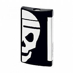 Dupont Minijet Black with White Skull