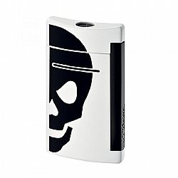 Dupont Minijet White with Black Skull