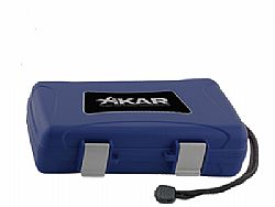 Υγραντήρας πούρων Xikar Xi5 Cigar Travel Humidor Blue