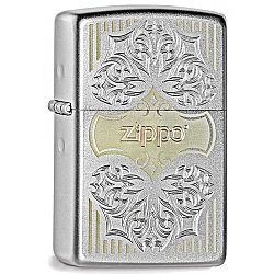 Zippo Classic Lines and Logo [GR4075]