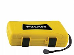 Υγραντήρας πούρων Xikar Xi5 Cigar Travel  Humidor Yellow