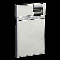Porsche Design Flat Flame Lighter Silver Pearl