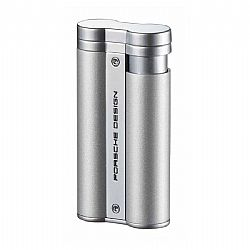Porsche Design Flower Flame Lighter Silver Pearl