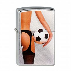 Zippo Lady And Soccer Ball [G3059]