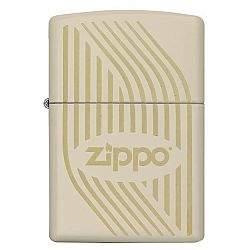 Zippo with Logo and Stripes [29530]