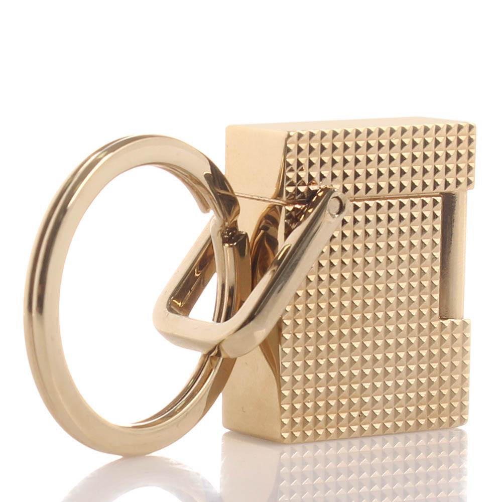375f683cd8 S.T. Dupont Μπρελόκ Κλειδιών σε Σχήμα Αναπτήρα Gold