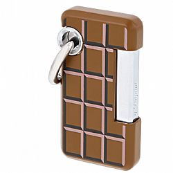 S.T. Dupont Hooked Choco Lighter (Brown)