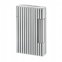 S.T. Dupont Initial Vertical Lines Chrome