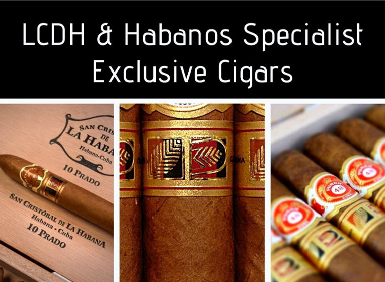 LCDH & Habanos Specialist Exclusive Cigars